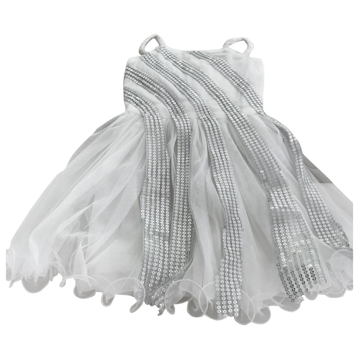 Billieblush \N White Glitter dress for Kids 5 years - up to 108cm FR