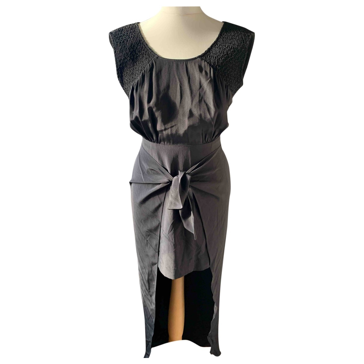Sass & Bide \N Kleid in  Schwarz Seide