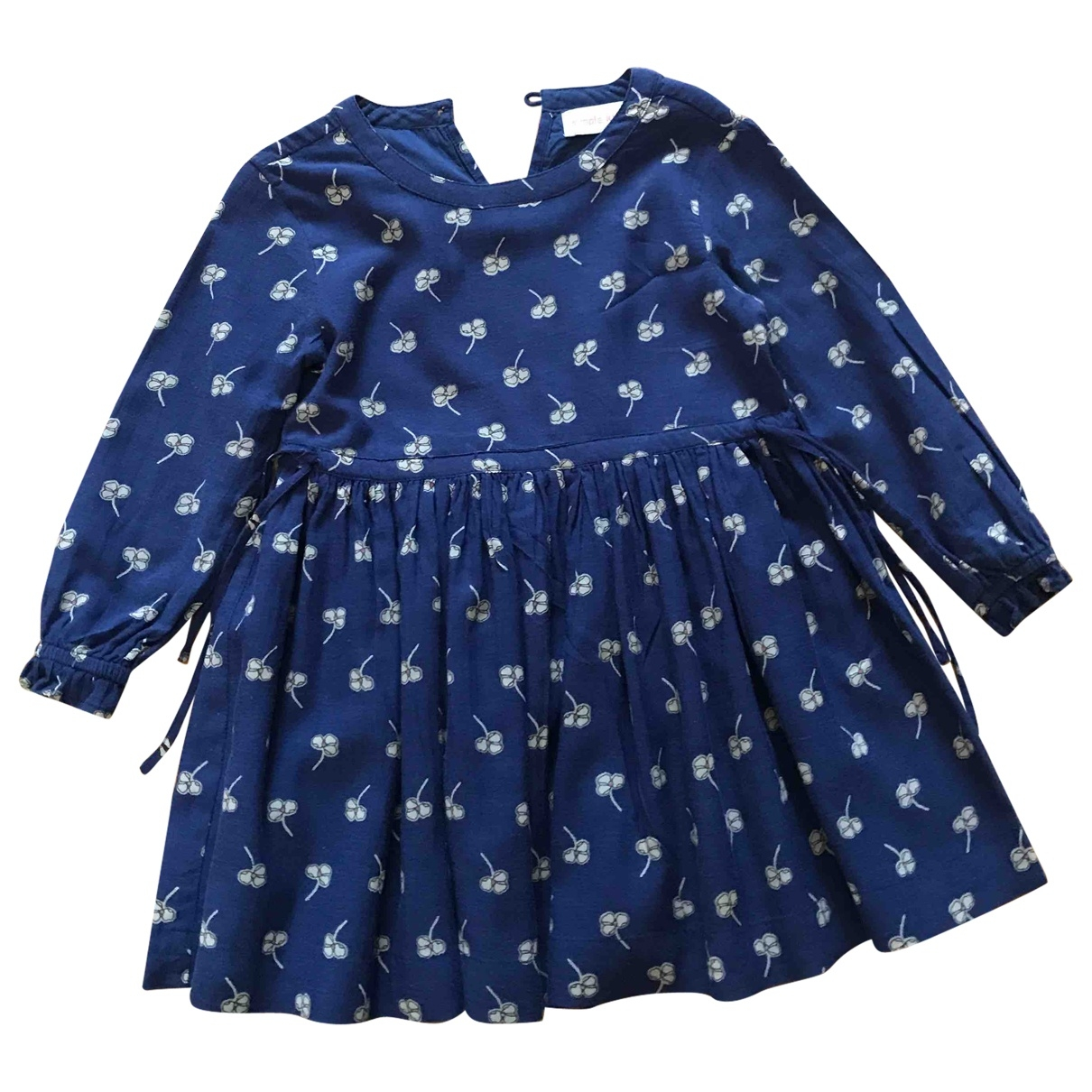 Simple Kids \N Blue dress for Kids 4 years - up to 102cm FR