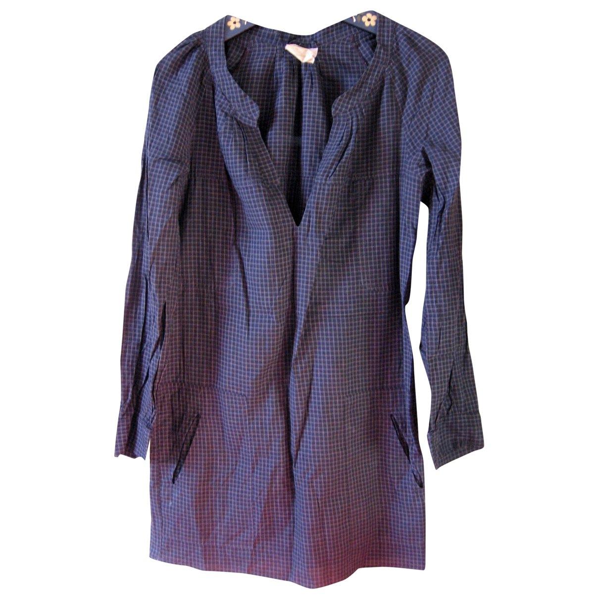 Isabel Marant Etoile \N Blue Cotton dress for Women 1 0-5