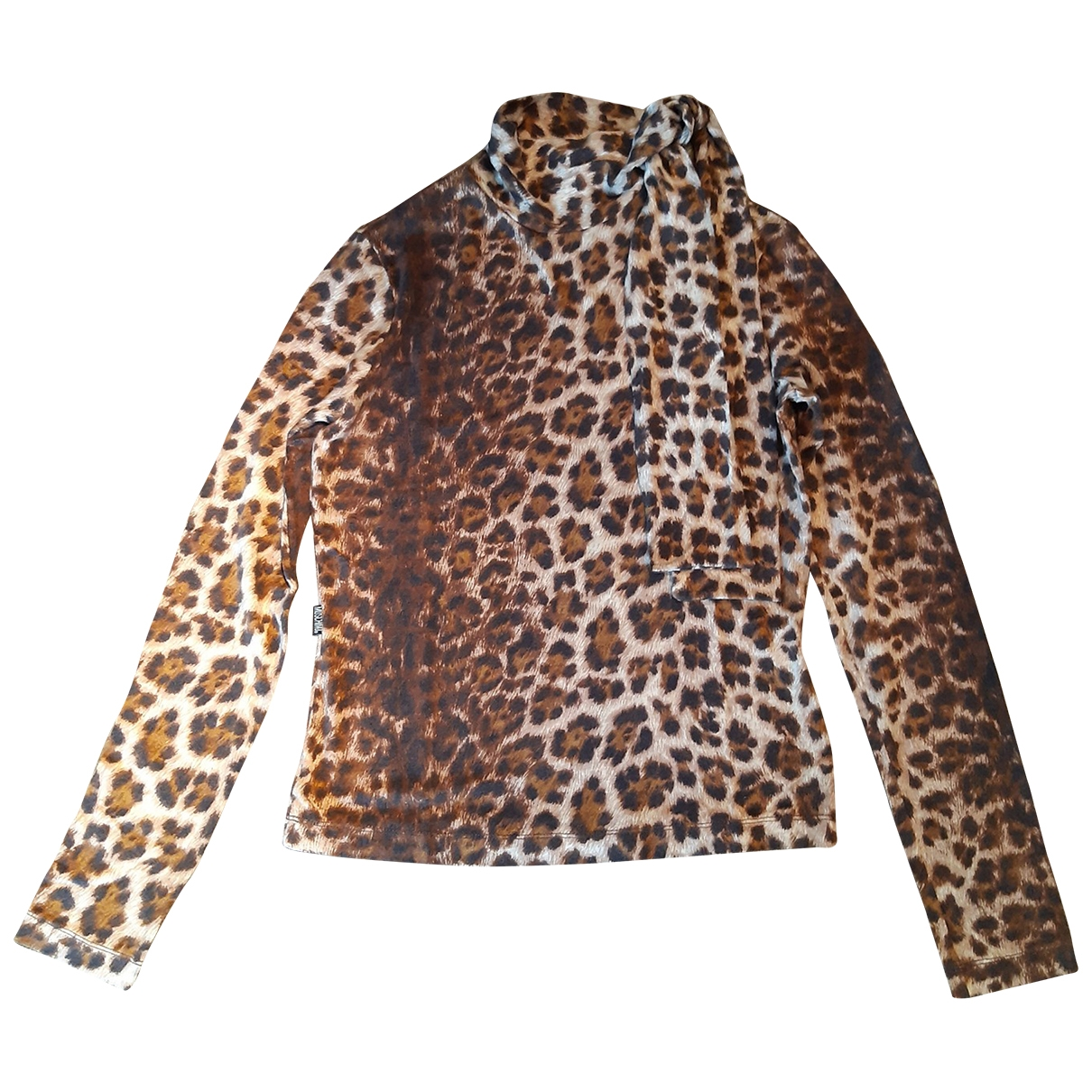 Moschino Cheap And Chic - Top   pour femme - marron