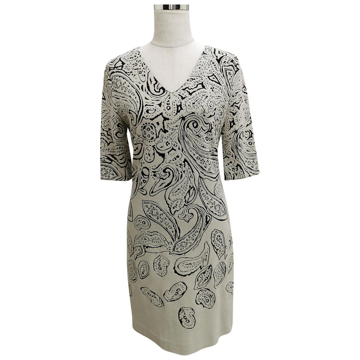 Etro - Robe   pour femme - ecru