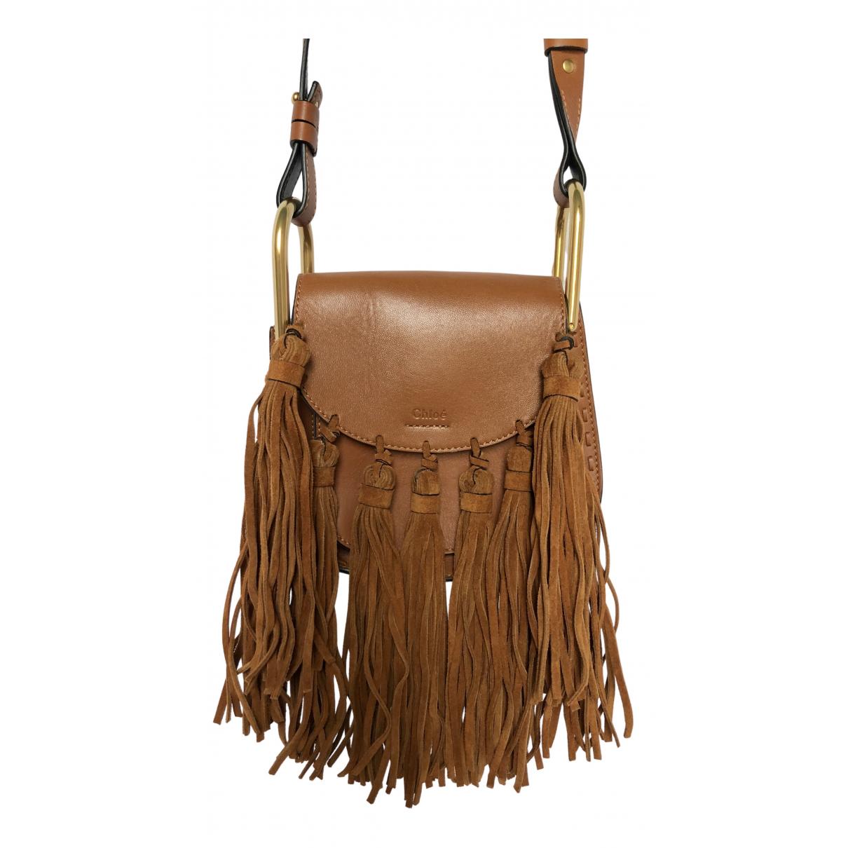 Chloé Hudson Camel Leather handbag for Women N