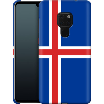 Huawei Mate 20 Smartphone Huelle - Iceland Flag von caseable Designs