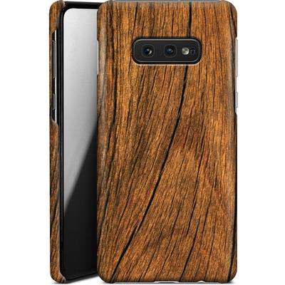 Samsung Galaxy S10e Smartphone Huelle - Wood von caseable Designs