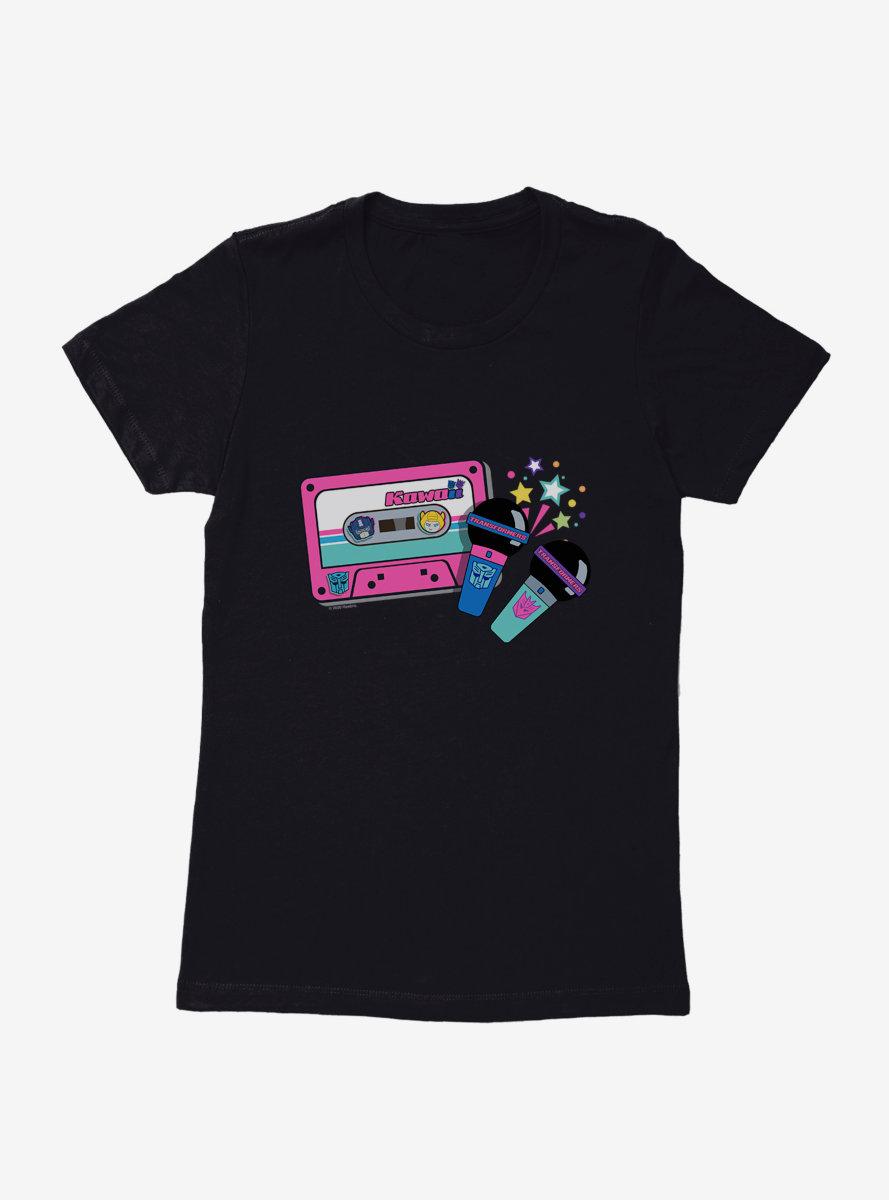 Transformers Cassette Womens T-Shirt