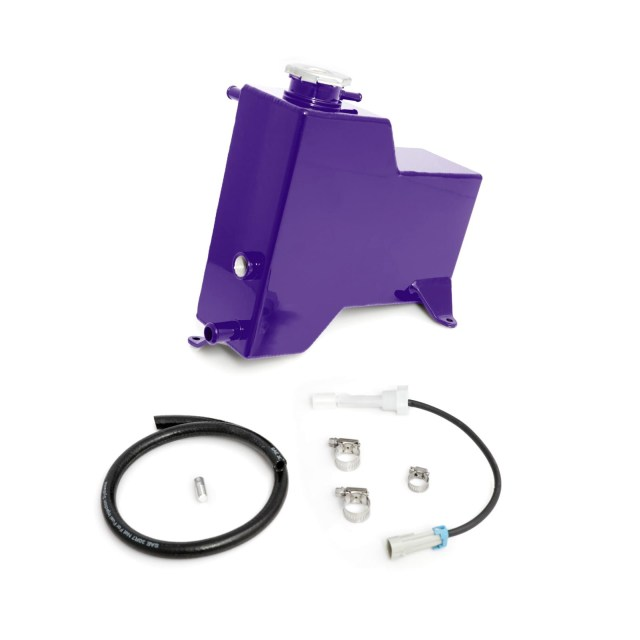 2011-2014 Chevrolet / GMC Factory Replacement Coolant Tank Candy Purple HSP Diesel 527-1-HSP-CP