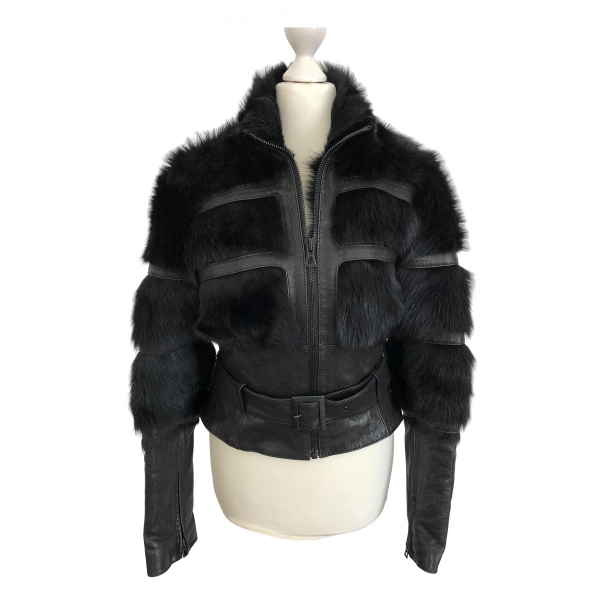 Boss Orange N Black Mongolian Lamb jacket for Women S International