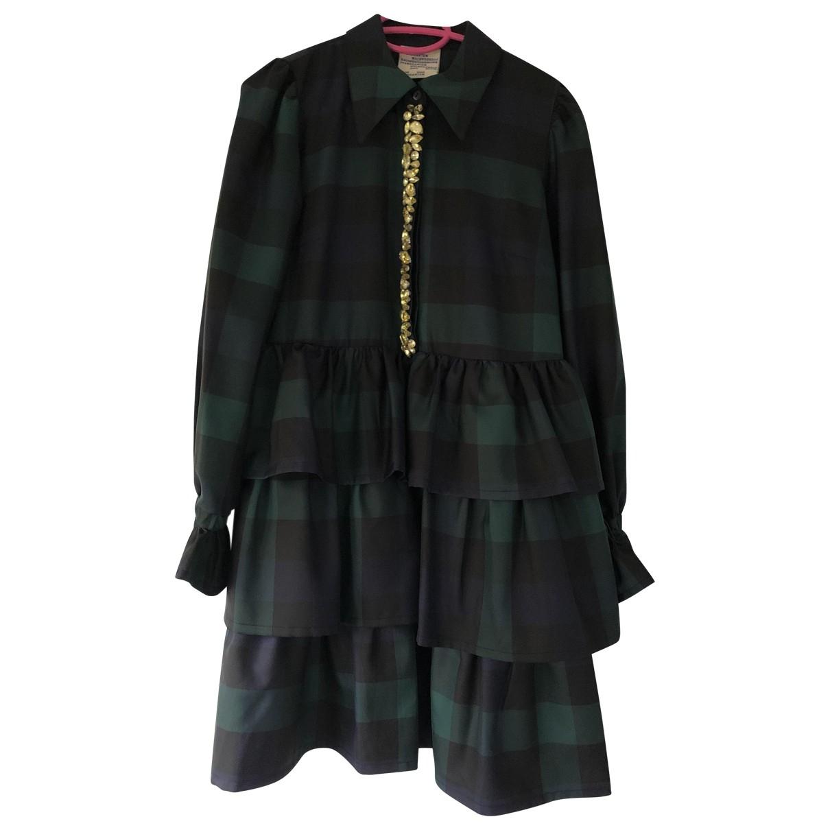 Baum Und Pferdgarten \N Kleid in  Bunt Polyester