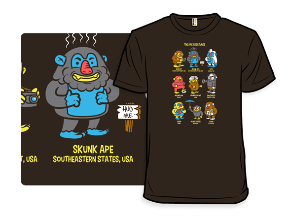 The Ape Creatures T Shirt