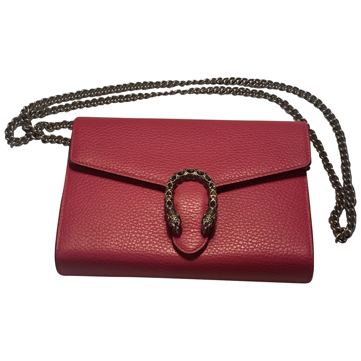 Gucci Dionysus Pink Leather handbag for Women \N