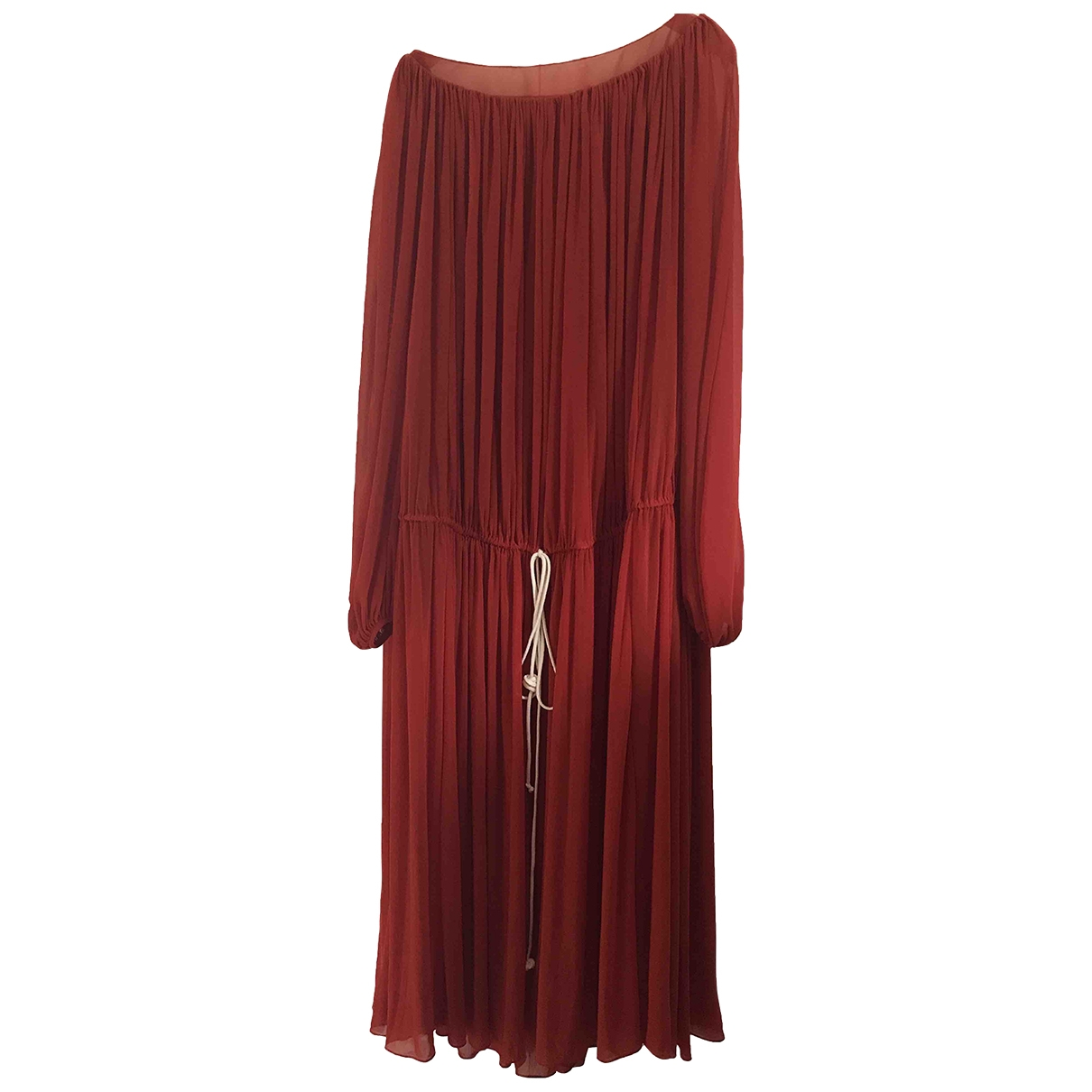 By Bonnie Young \N Kleid in  Rot Polyester