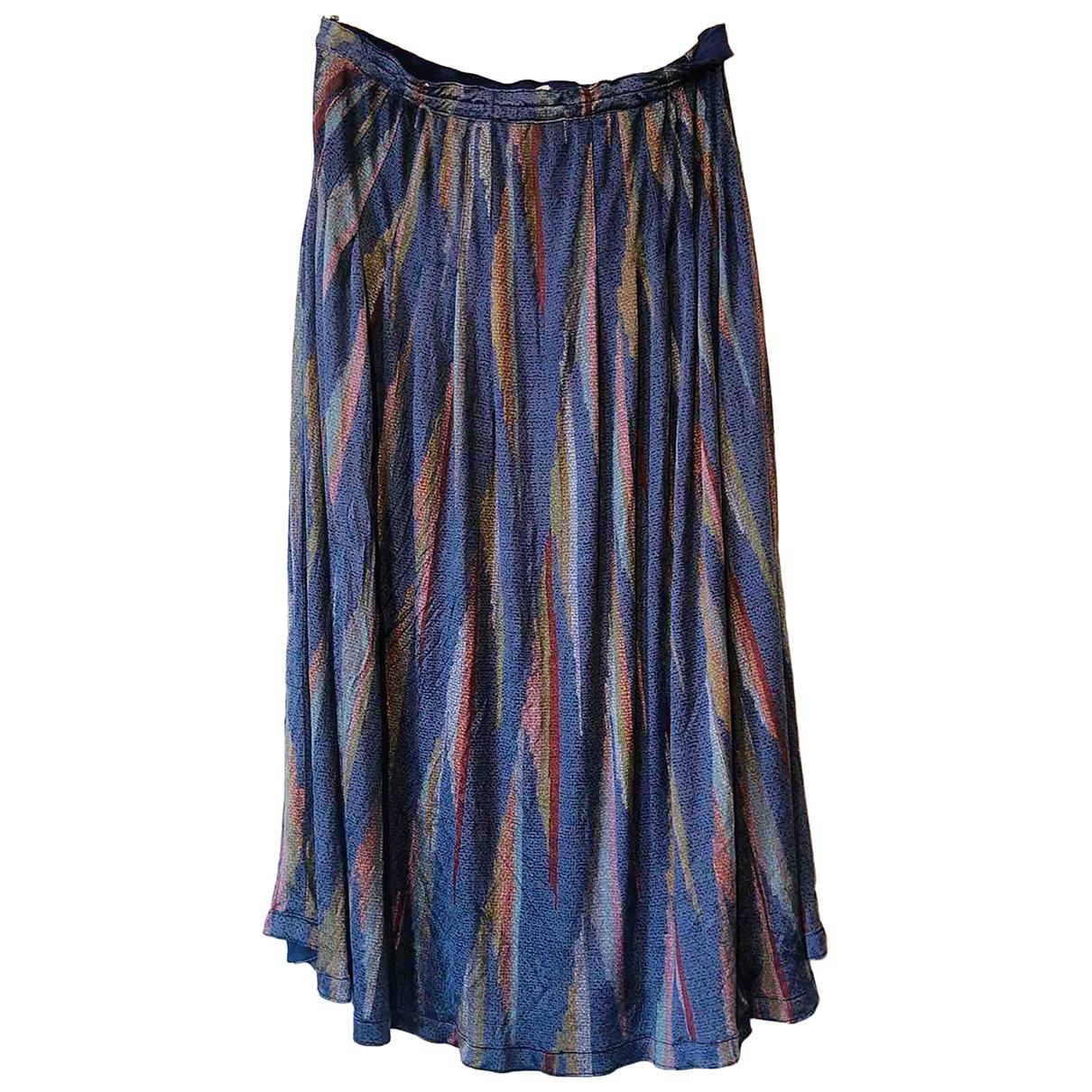 Missoni \N Multicolour Silk skirt for Women 40 IT