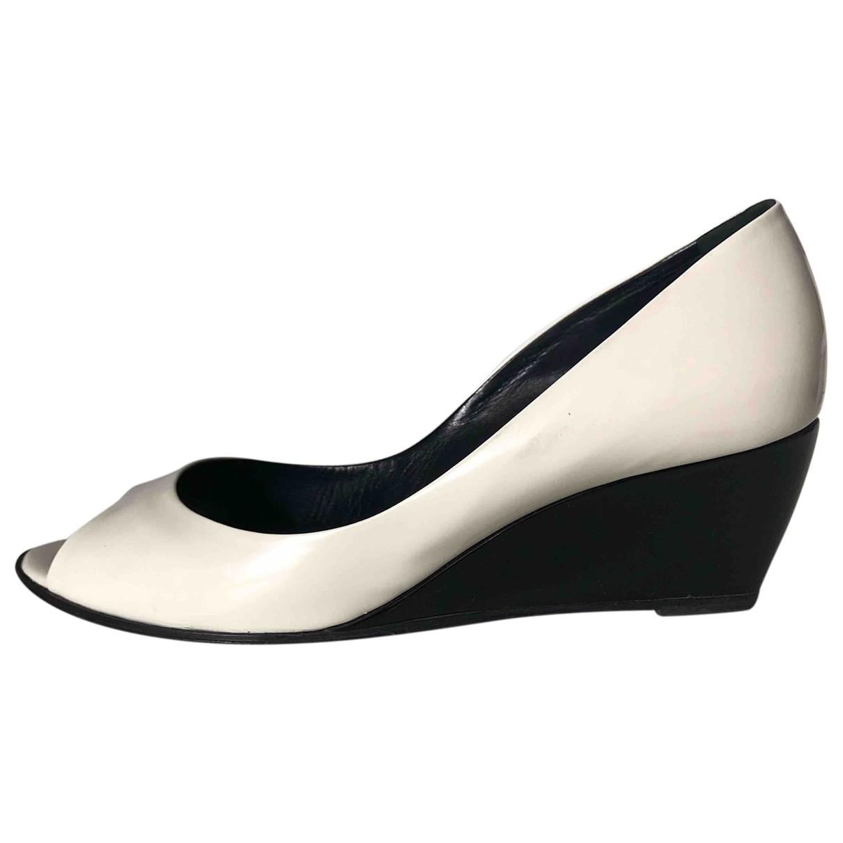 Pierre Hardy - Escarpins   pour femme en cuir - blanc