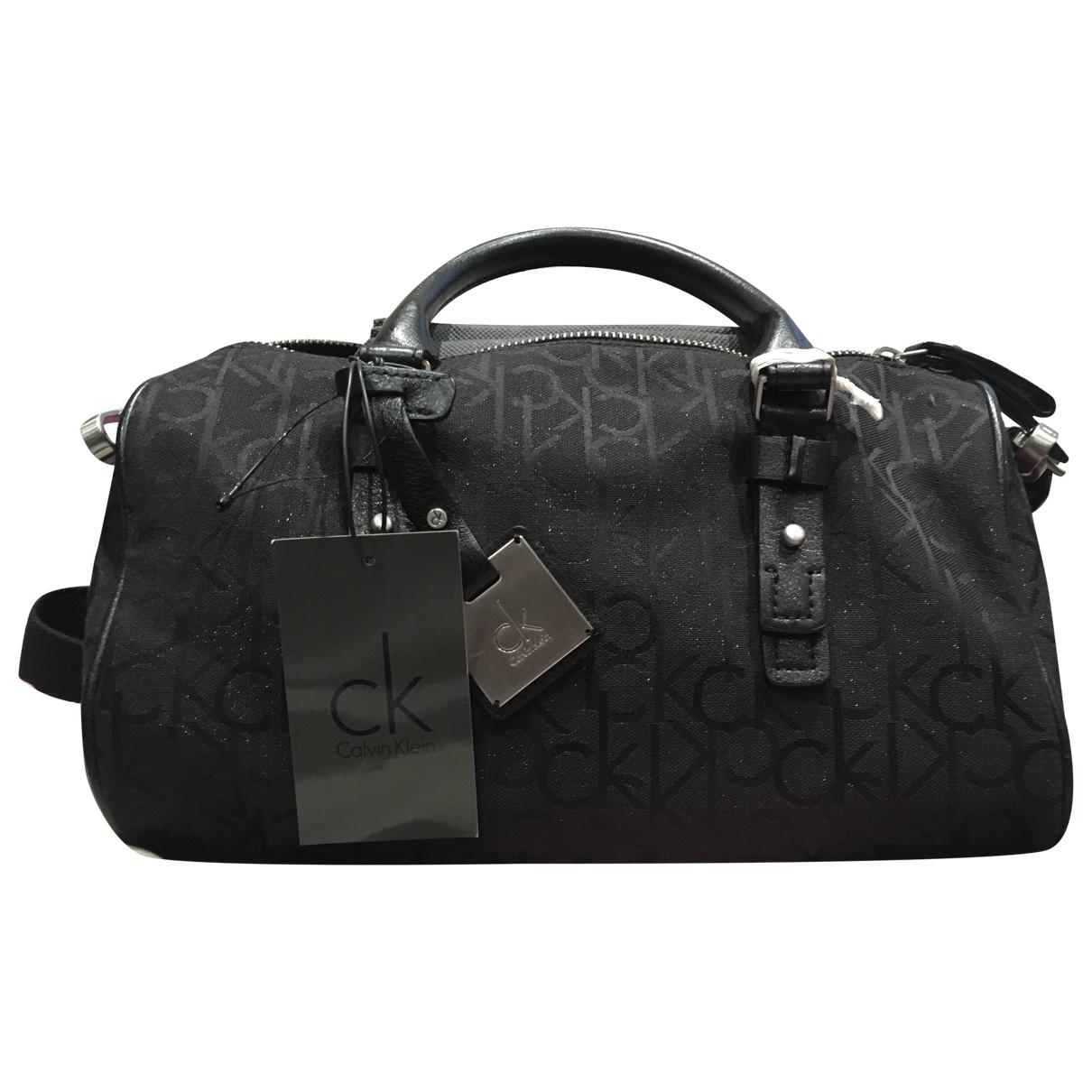 Calvin Klein \N Handtasche in  Schwarz Synthetik