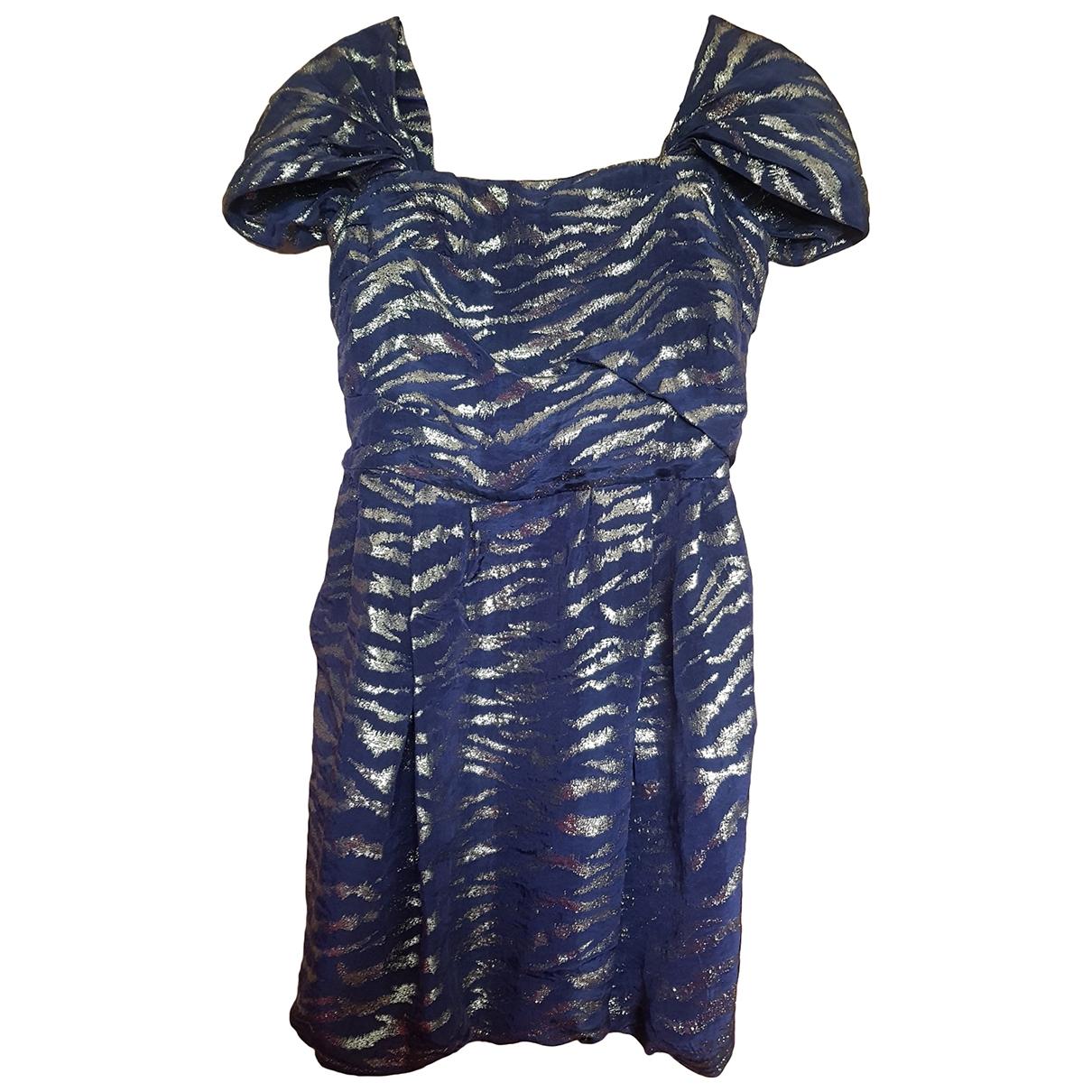 3.1 Phillip Lim - Robe   pour femme en soie - bleu