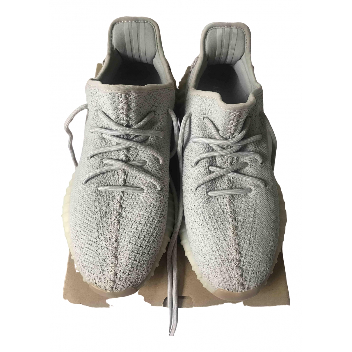 Yeezy X Adidas Boost 350 V2 Sneakers in  Grau Polyester