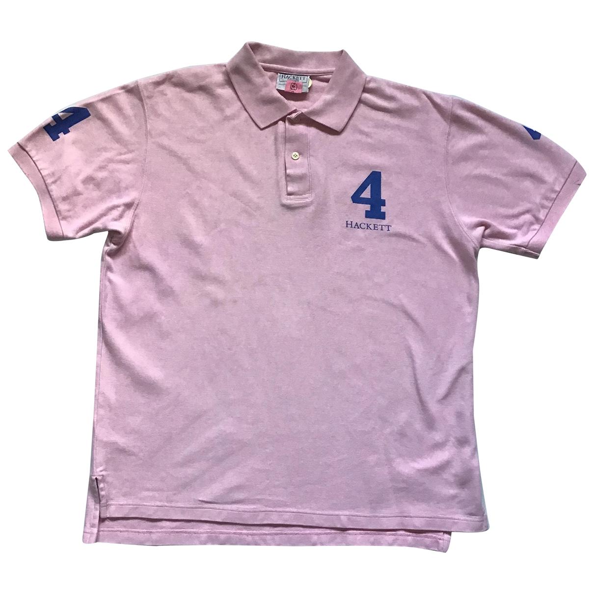 Hackett London - Polos   pour homme en coton - rose