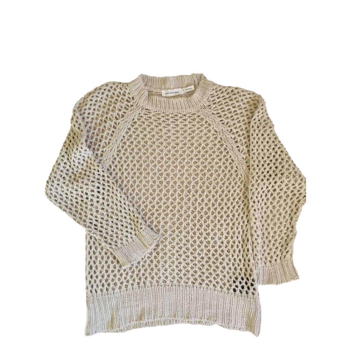 Isabel Marant - Pull   pour femme en coton - ecru