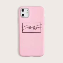 Funda de iphone estampado de dedeo