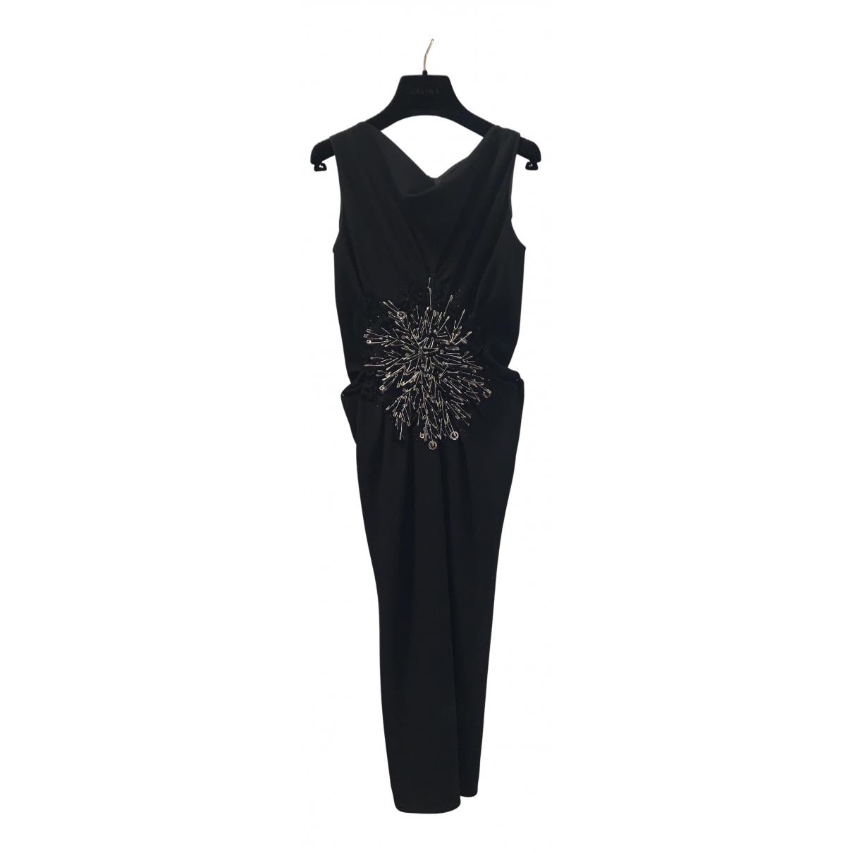 Moschino \N Kleid in  Schwarz Mit Pailletten