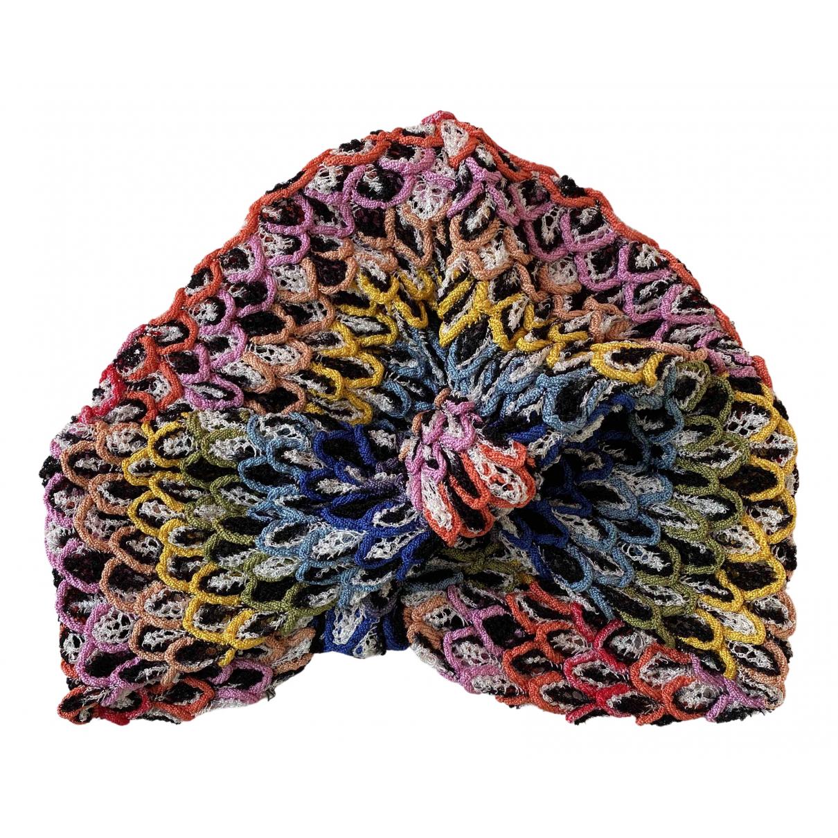 Missoni - Chapeau   pour femme - multicolore