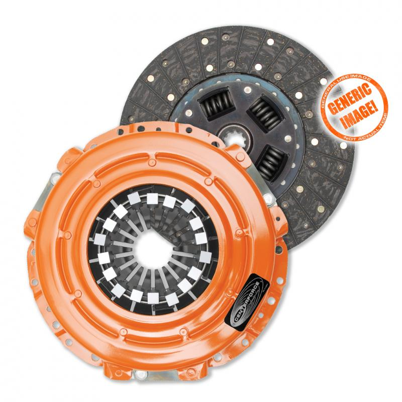 Centerforce CFT515004(R) II, Clutch Pressure Plate and Disc Set Mitsubishi Starion 1983-1987 2.6L 4-Cyl Manual