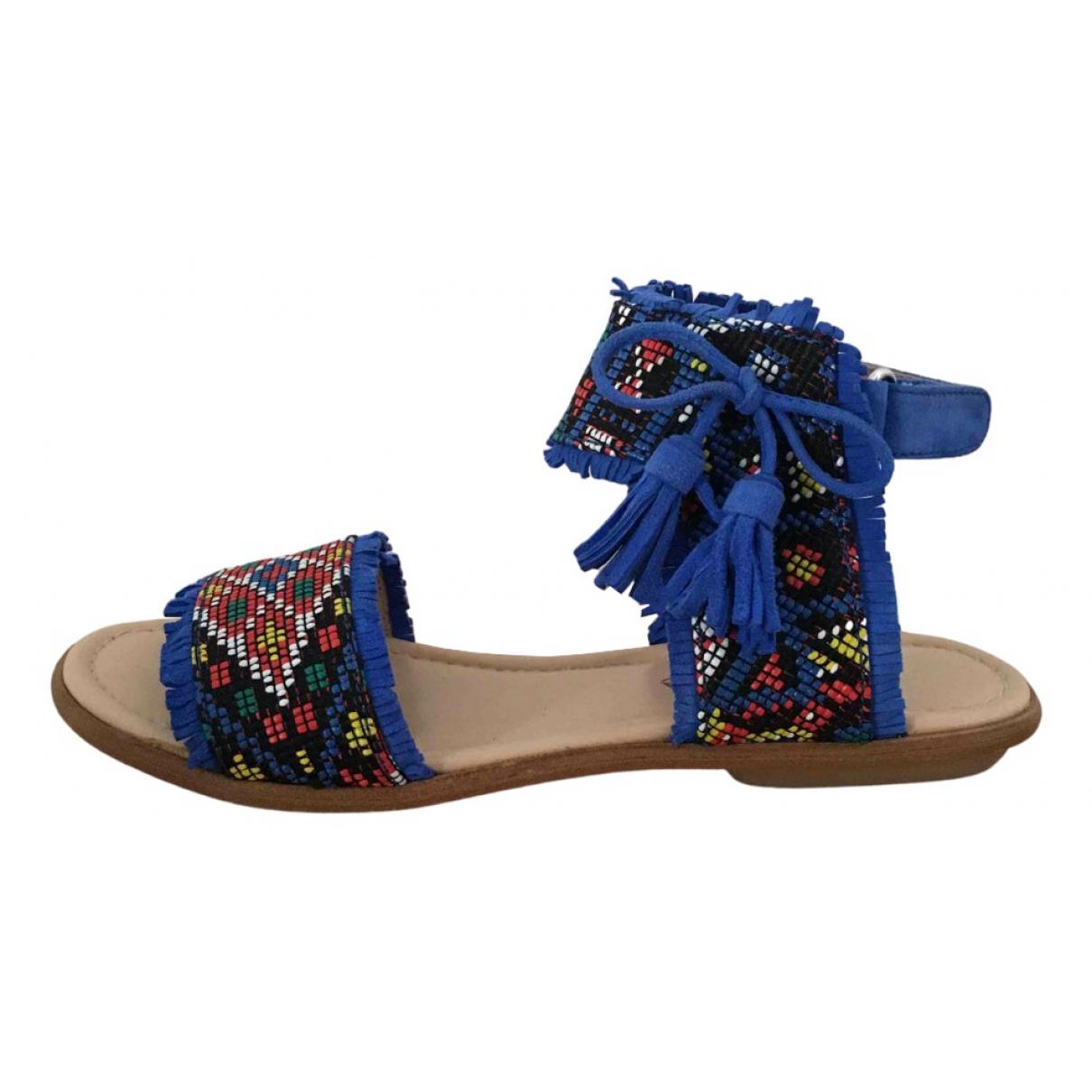 Aquazzura - Sandales   pour enfant en cuir - multicolore