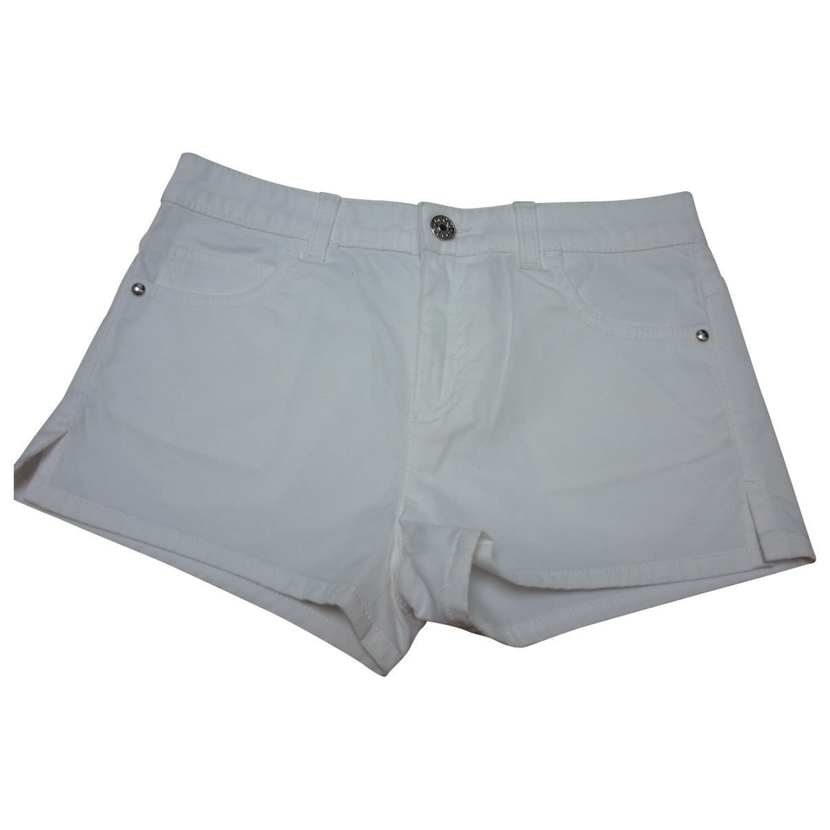 Gucci - Short   pour enfant en coton - blanc