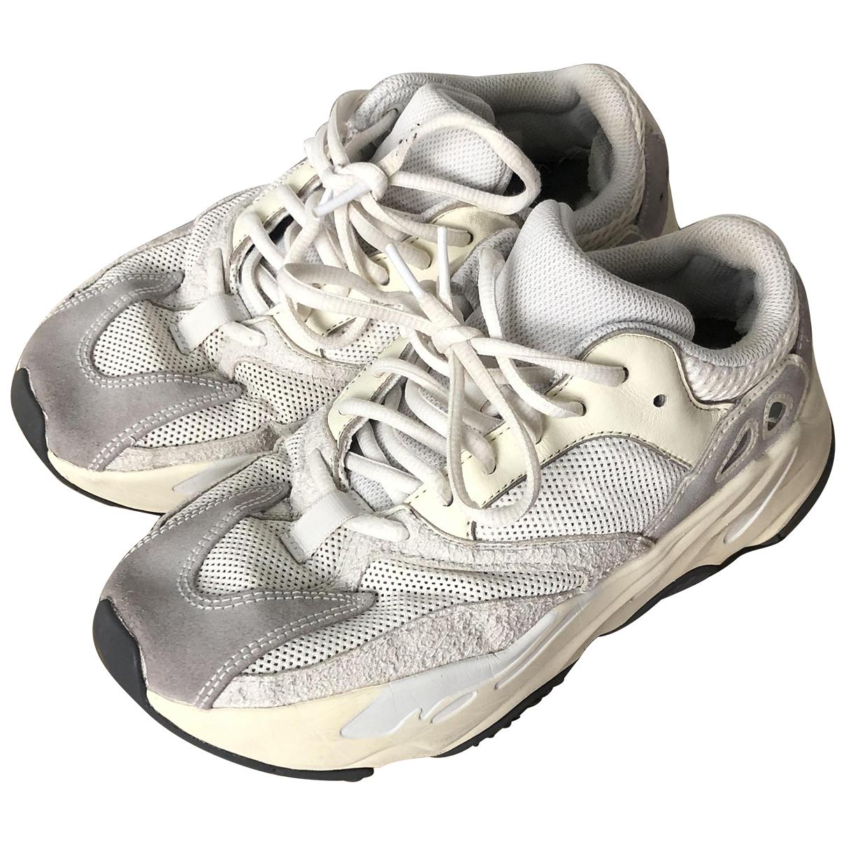 Yeezy X Adidas - Baskets Boost 700 V1  pour femme en toile - blanc