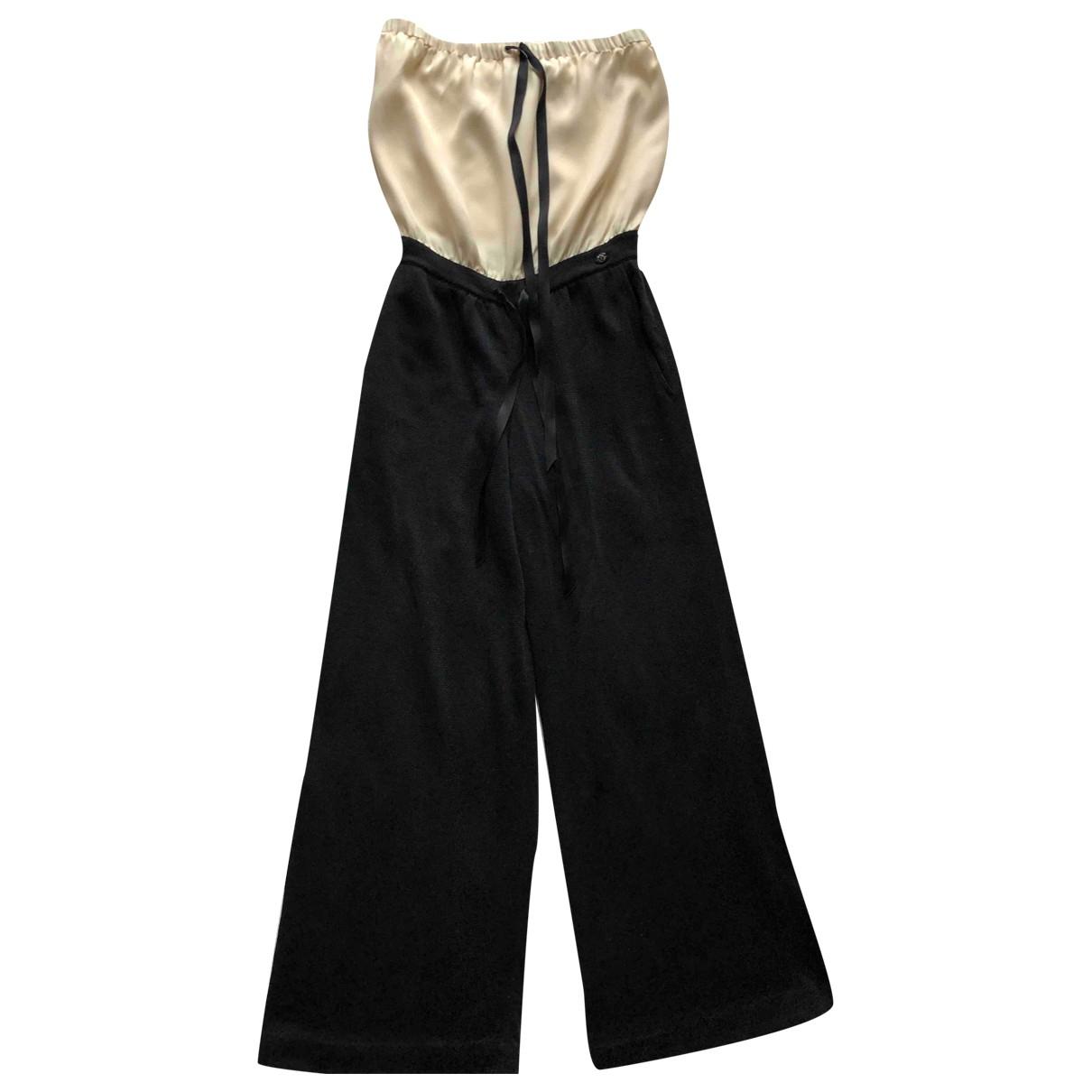 Chanel - Combinaison   pour femme en soie - noir