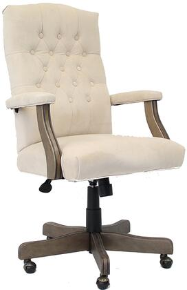B905DW-CMP Executive Champagne Velvet With Driftwood Finish