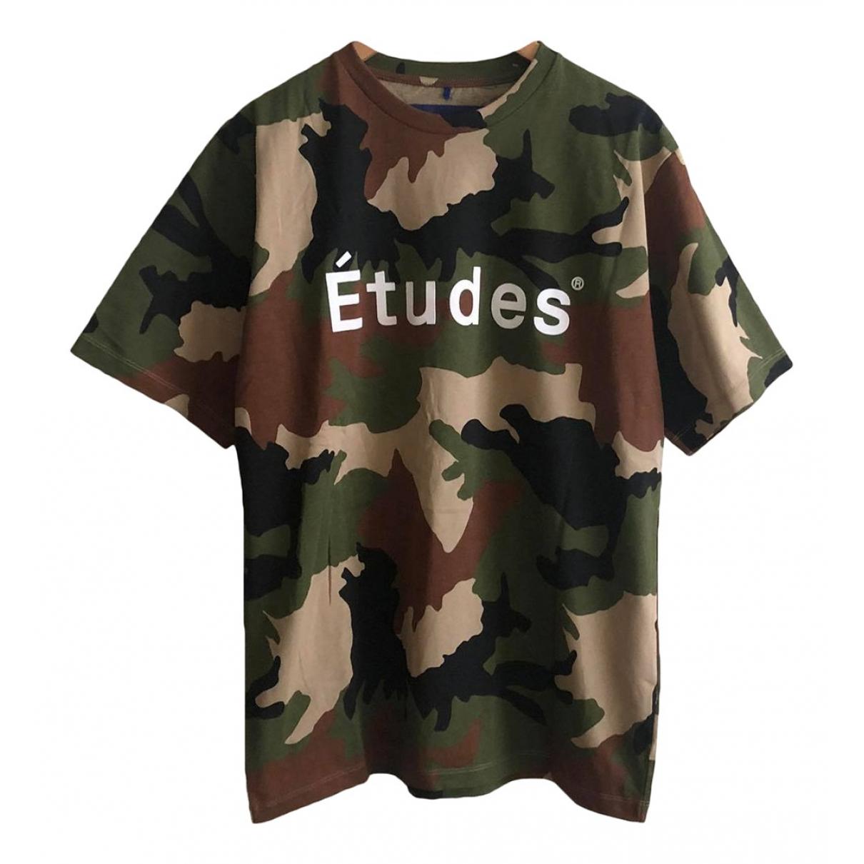 Etudes Studio - Tee shirts   pour homme en coton - multicolore