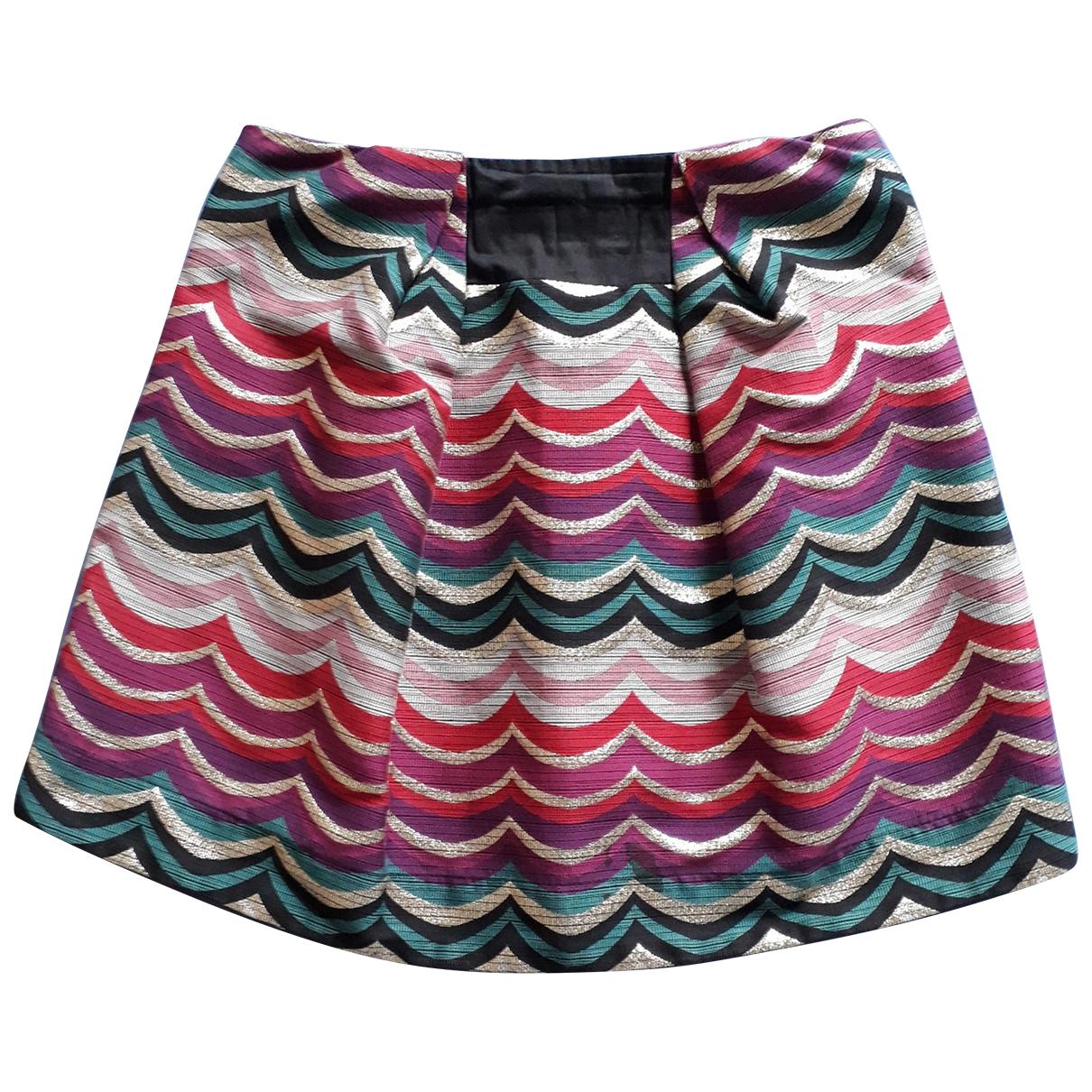 See By Chloe - Jupe   pour femme en coton - multicolore