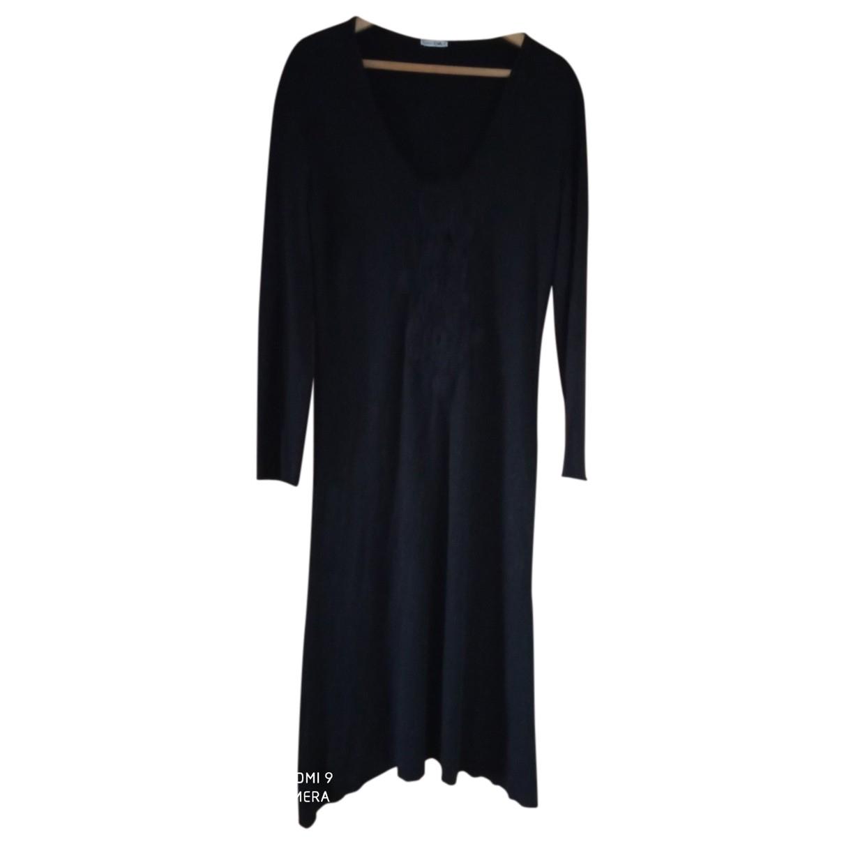 Byblos - Robe   pour femme en laine - noir