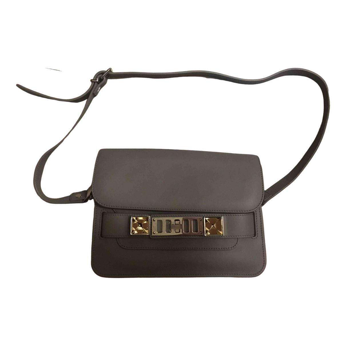 Proenza Schouler PS11 Handtasche in  Beige Leder