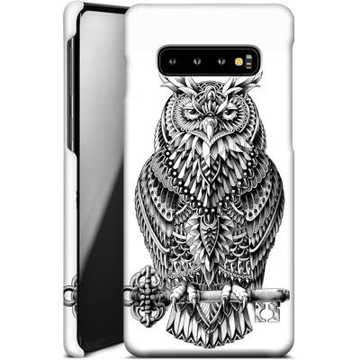 Samsung Galaxy S10 Plus Smartphone Huelle - Great Horned Owl von BIOWORKZ