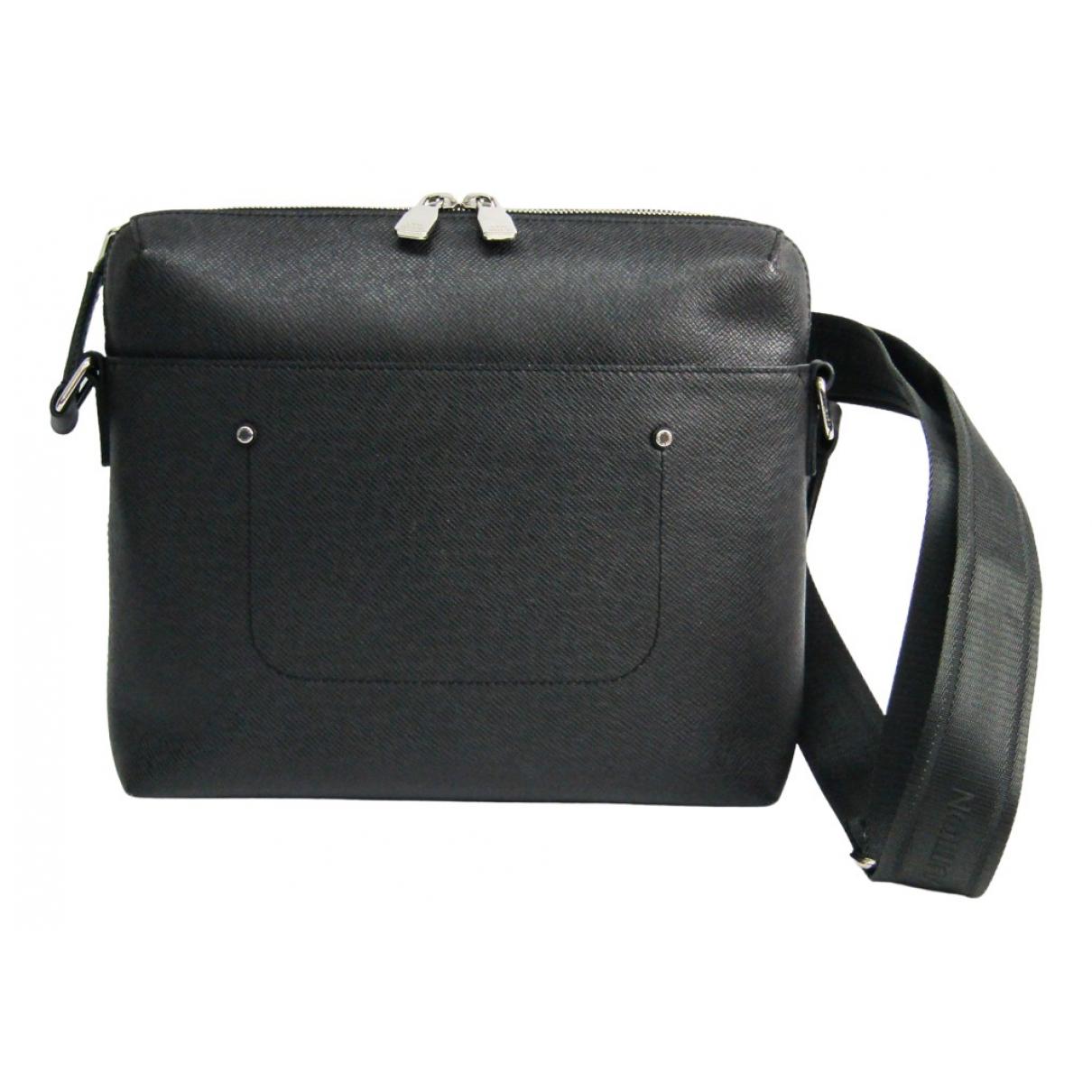 Louis Vuitton Grigori Anthracite Leather bag for Men N