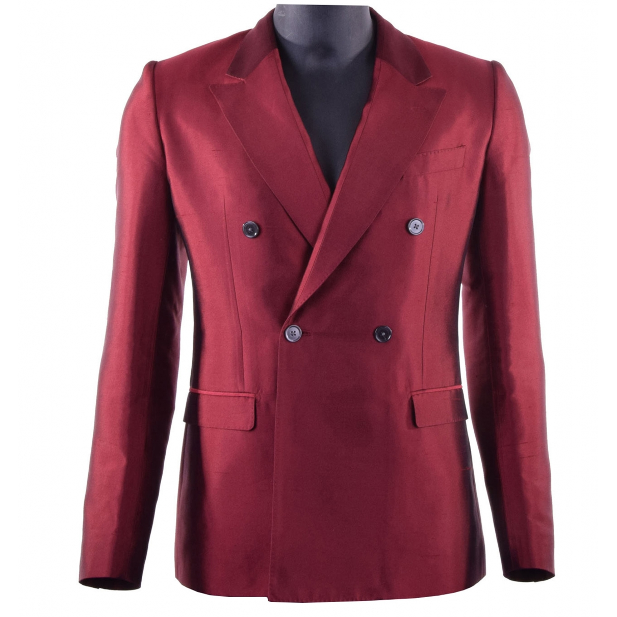 Dolce & Gabbana \N Red Silk jacket  for Men 48 IT