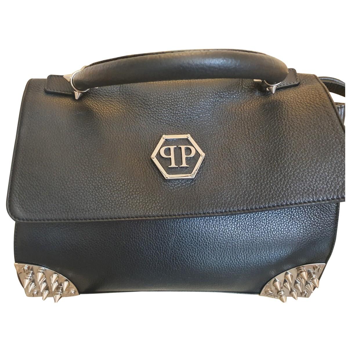 Philipp Plein \N Black Leather handbag for Women \N