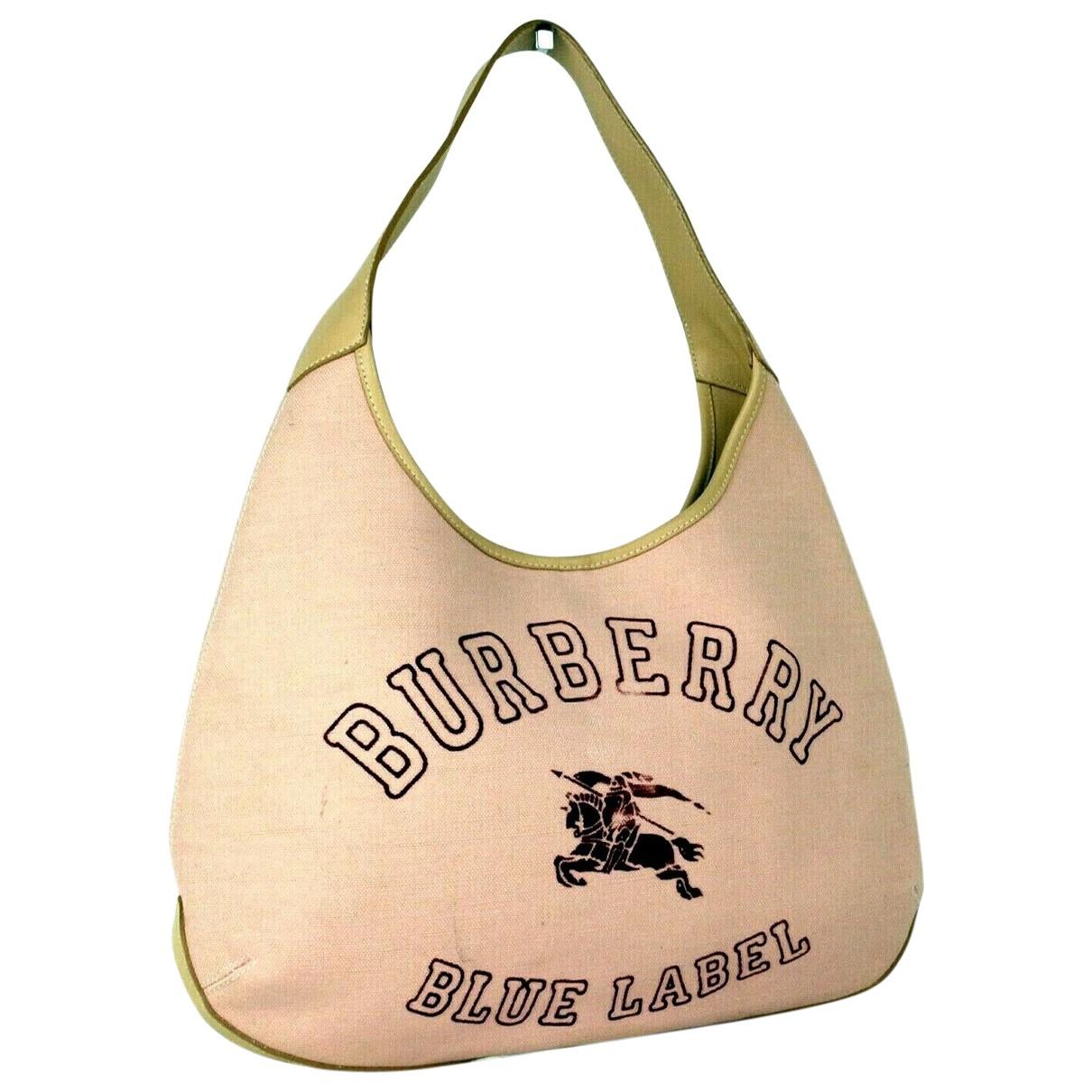 Bolso  de Lona Burberry