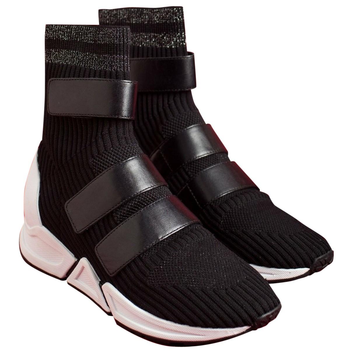 Ash \N Sneakers in  Schwarz Leder