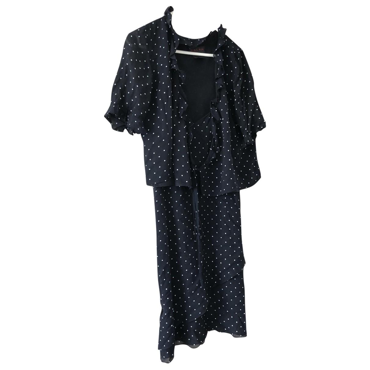 Ralph Lauren Collection - Robe   pour femme en coton - marine