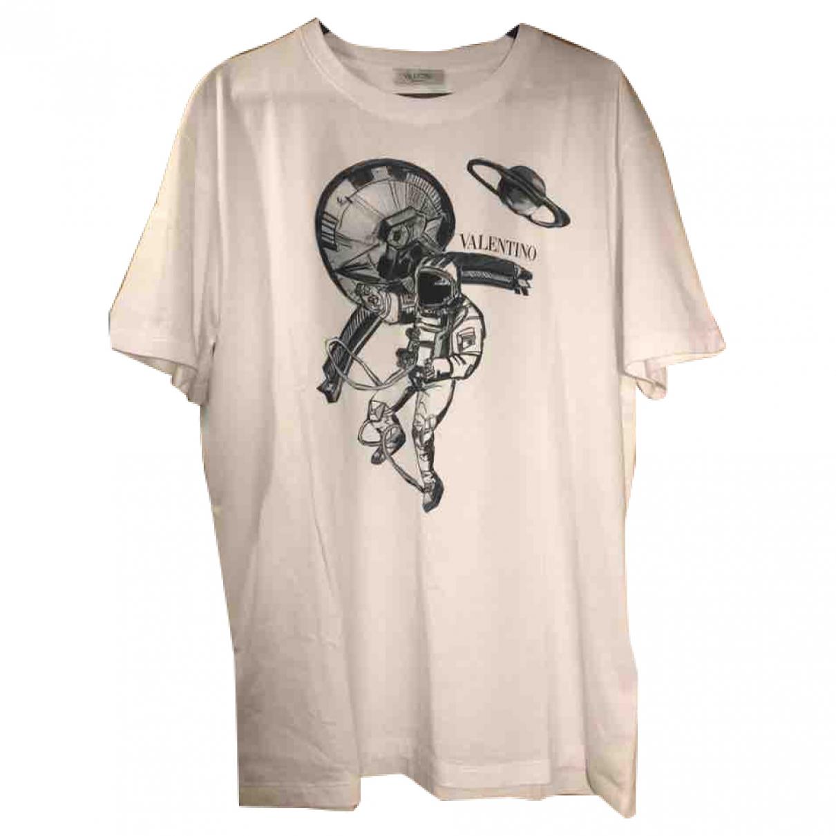 Valentino Garavani - Tee shirts   pour homme en coton - blanc