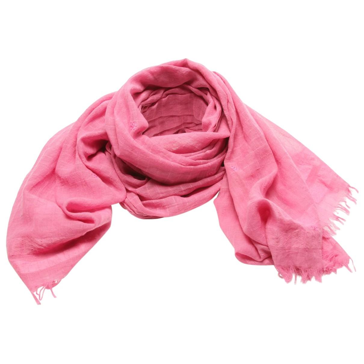 Faliero Sarti - Foulard   pour femme en coton - rose