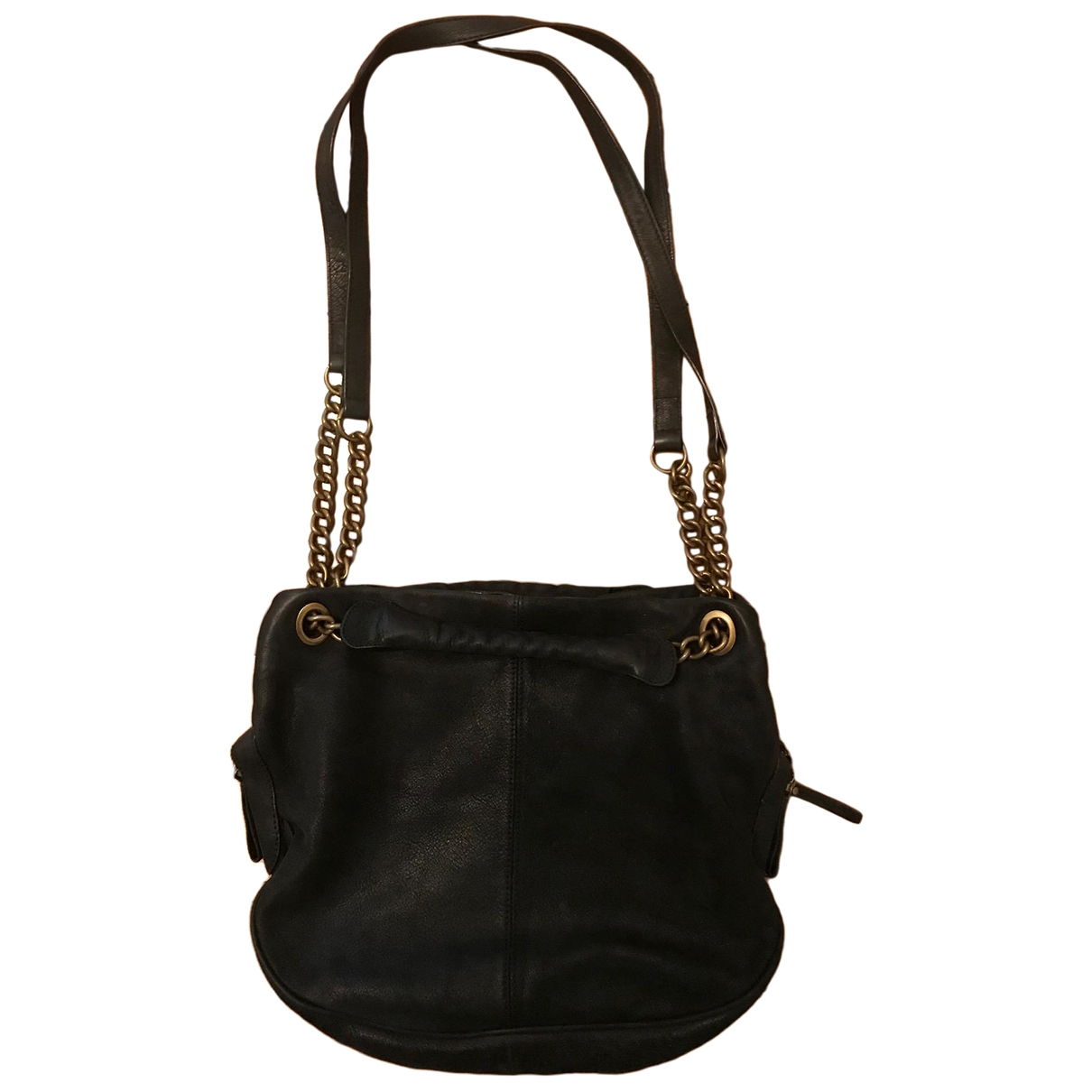 Vanessa Bruno Caprice Black Leather handbag for Women \N