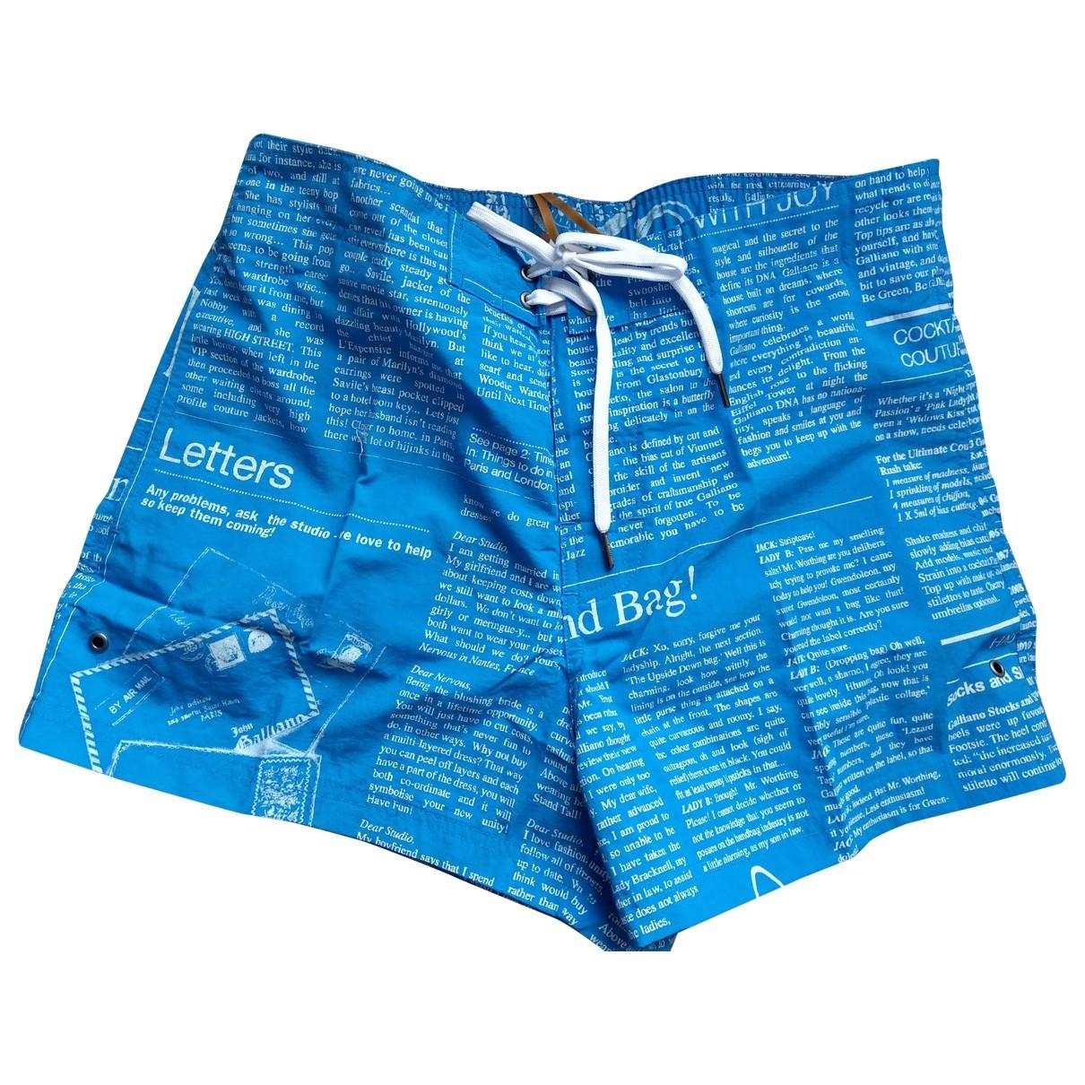 John Galliano \N Blue Swimwear for Men 48 IT