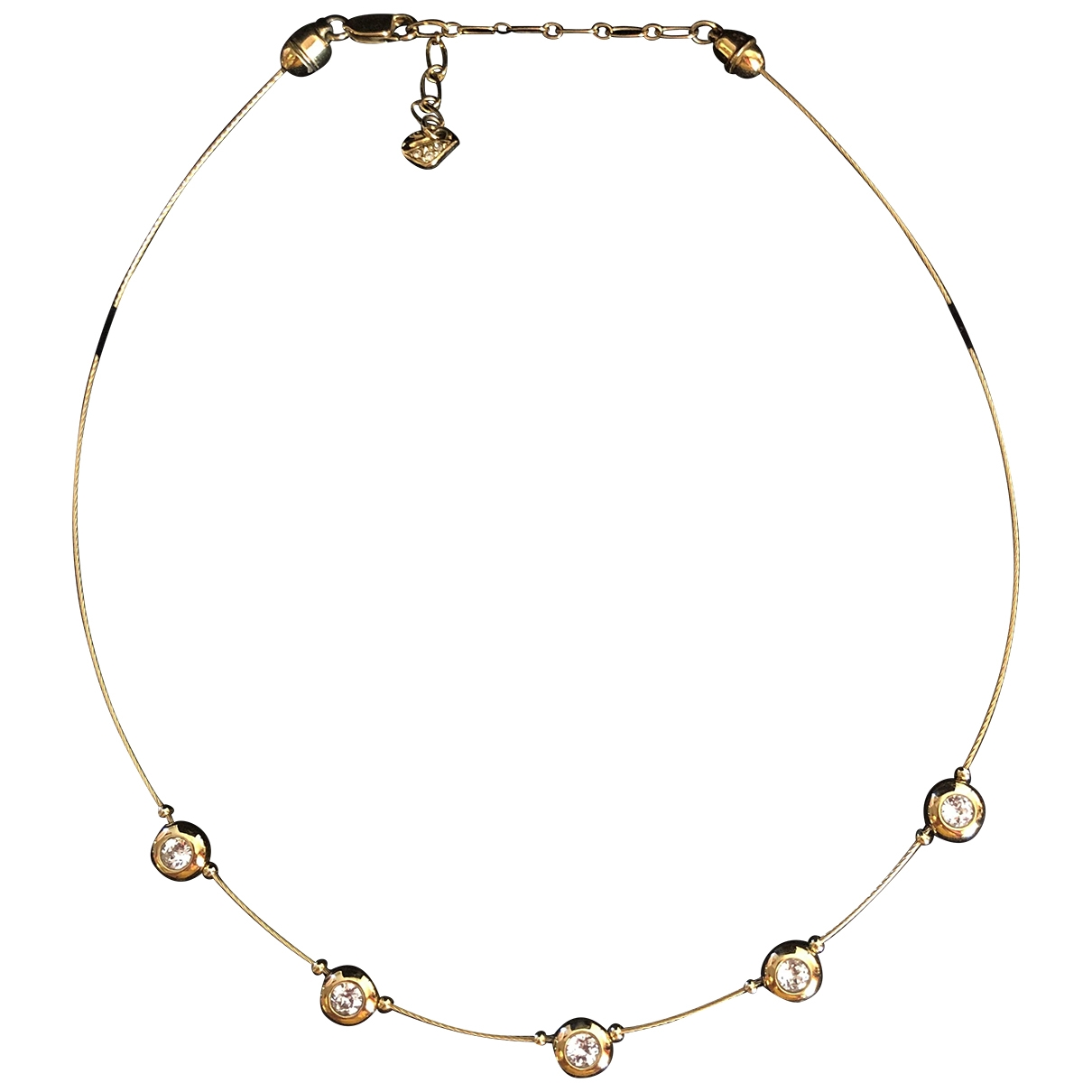 Swarovski \N Gold Crystal necklace for Women \N