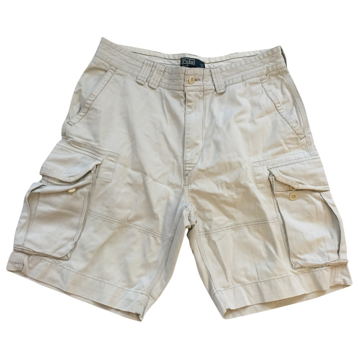 Polo Ralph Lauren \N Shorts in  Ecru Baumwolle