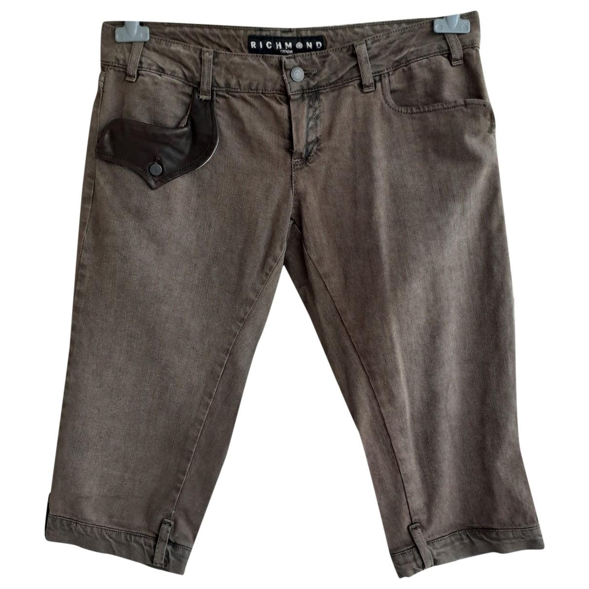 John Richmond \N Shorts in  Braun Baumwolle